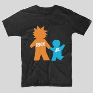 tricou-negru-cu-mesaj-haios-rick-and-morty-rick-jr