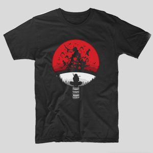 tricou-negru-cu-ilustratie-haioasa-sharingan-silhouette