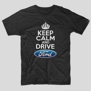 tricou-negru-cu-mesaj-haios-pentru-soferi-cu-masini-keep-calm-and-drive-ford