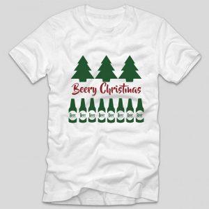 tricou-alb-cu-mesaj-haios-beery-christmas