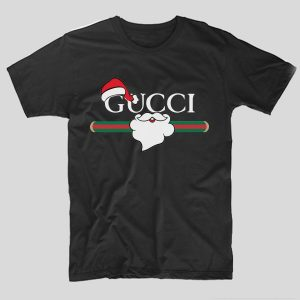tricou-negru-cu-mesaj-haios-christmas-gucci