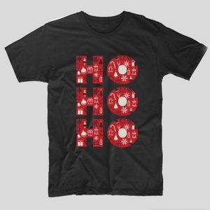 tricou-negru-cu-mesaj-haios-ho-ho-ho-craciun