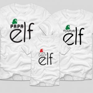 tricouri-familie-albe-mamam-papa-little-elf