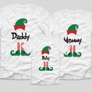 tricouri-familie-craciun-elfi-daddy-mommey-baby