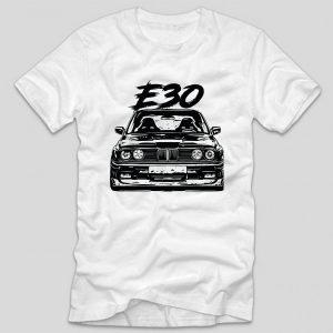 tricou-alb-tricou-auto-bmw-e30-tricou-masini-bmw