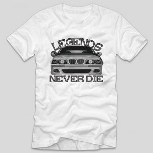 tricou-alb-tricou-auto-bmw-legends-never-die