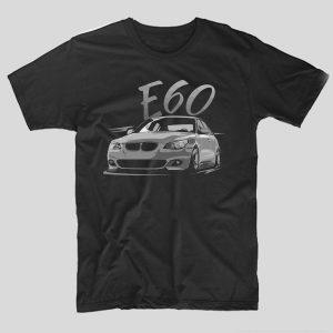 tricou-auto-bmw-e60-tricou-masini-bmw-negru