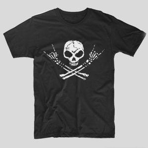 tricou-negru-cu-mesaj-rock-tricou-rock-skull