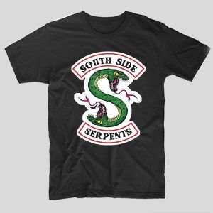 tricou-riverdale-negru-south-side-serpents