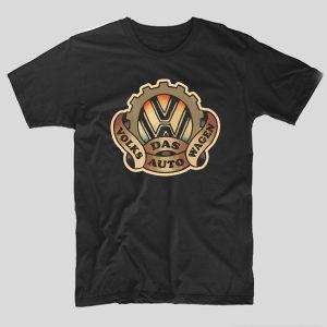 tricou-negru-volkswagen-das-auto