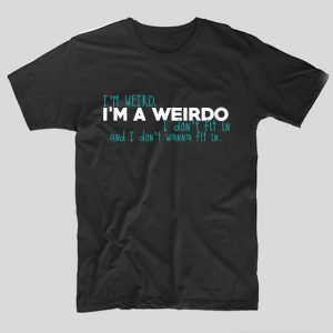 tricou-riverdale-im-weird-im-a-weirdo-negru