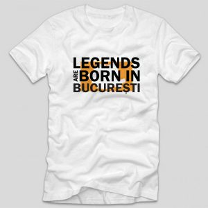tricou-alb-cu-mesaj-haios-legends-are-born-in-bucuresti