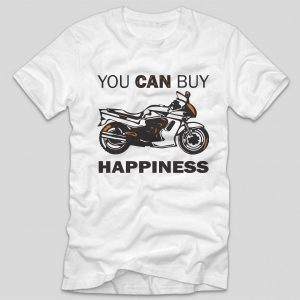 tricou-alb-moto-cu-mesaj-you-can-buy-happiness