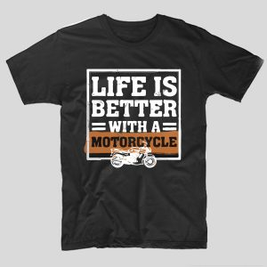 tricou-negru-cu-mesaj-moto-life-is-better-with-a-motorcycle
