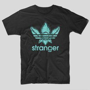 tricou-stranger-things-stranger-leaf-negru