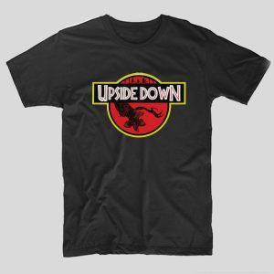 tricou-stranger-things-upside-down-negru