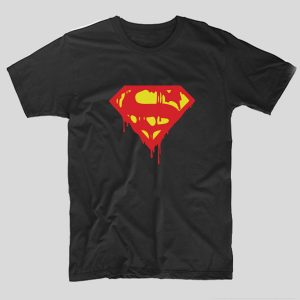tricou-negru-superman-melt
