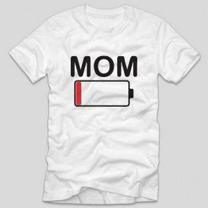 tricou-mamici-alb-mom-battery