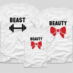 tricouri-familie-beast-beauty-beauty
