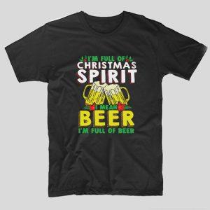 tricou-craciun-negru-im-full-of-christmas-spirit-i-mean-beer-im-full-of-beer