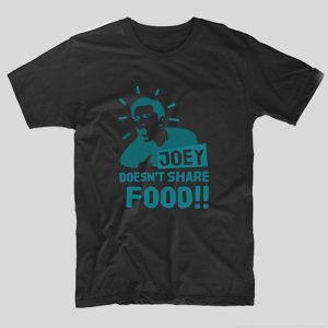 tricou-negru-joey-doesnt-share-food