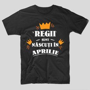 tricou-aniversare-cu-luna-nasterii-regii-sunt-nascuti-in-aprilie-negru