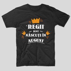 tricou-aniversare-cu-luna-nasterii-regii-sunt-nascuti-in-august-negru