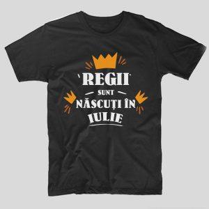 tricou-aniversare-cu-luna-nasterii-regii-sunt-nascuti-in-iulie-negru