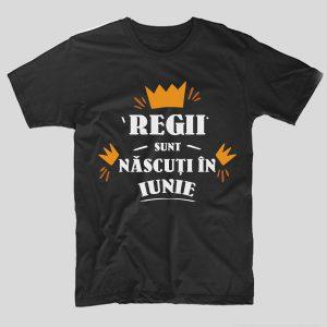 tricou-aniversare-cu-luna-nasterii-regii-sunt-nascuti-in-iunie-negru