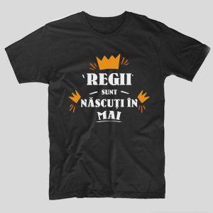 tricou-aniversare-cu-luna-nasterii-regii-sunt-nascuti-in-mai-negru