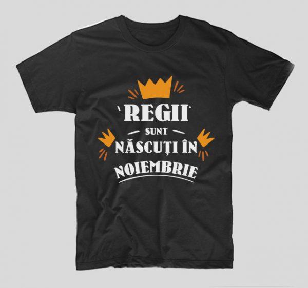 tricou-aniversare-cu-luna-nasterii-regii-sunt-nascuti-in-noiembrie-negru