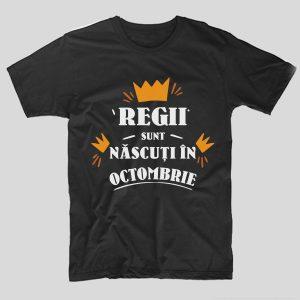 tricou-aniversare-cu-luna-nasterii-regii-sunt-nascuti-in-octombrie-negru