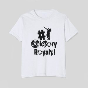 tricou-copii-victory-royale-fortnite