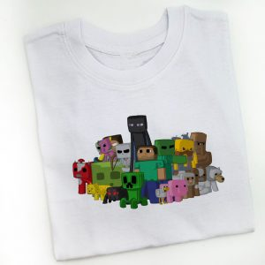 tricou-minecraft-all-characters