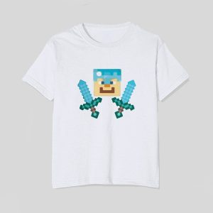 tricou-minecraft-character-single