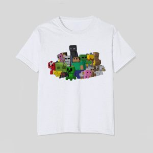 tricou-minecraft-characters-all