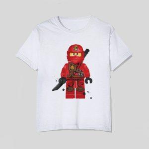 tricou-lego-ninjago-kai-standing