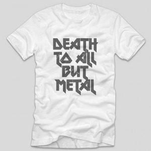 tricou-metallica-negru-death-to-all-but-metal-alb