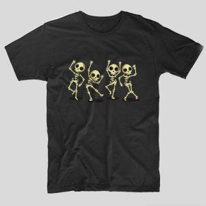 tricou-halloween-dancing-skulls