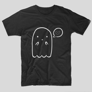 tricou-halloween-ghost-negru