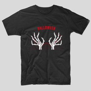tricou-halloween-skull-hands