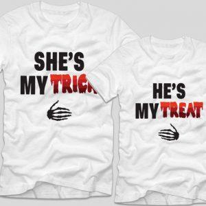 tricouri-halloween-cupluri-trick-or-treat-alb