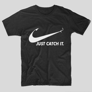 tricou-pescari-funny-just-catch-it-negru