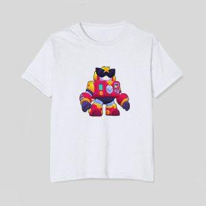 tricou-alb-copii-brawl-stars-surge