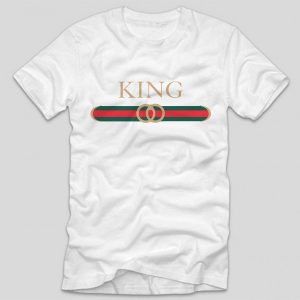 tricou-king-gucci-alb