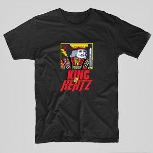 Tricou-electrician-king-of-hertz-negru