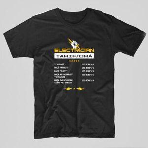 Tricou-electrician-tarif-negru