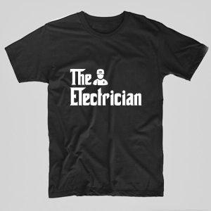 Tricou-electrician-the-electrician-negru