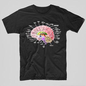 Tricou-Asistenta-Medicala-Brain-negru