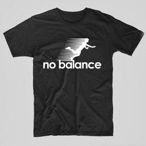 Tricou-Funny-no-balance-negru
